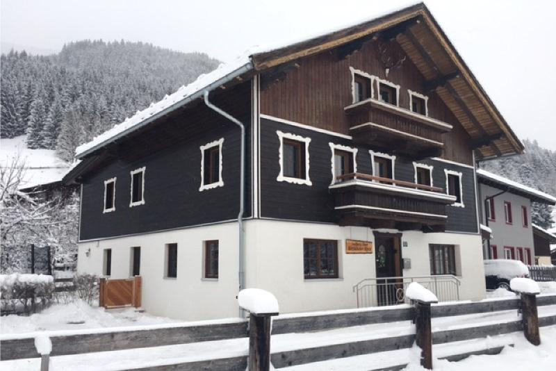 Het huis in de sneeuw